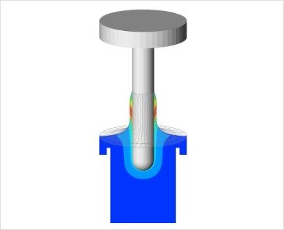 ディッピング工程のシミュレーション解析